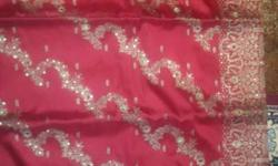new silk saree unused with attached blouse peace
