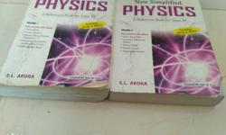 physics SL Arora volume 1 and 2 for class XII