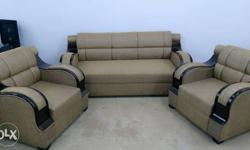 Modern and stylish design 5 seater sofa set (3+1+1) for