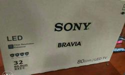 "Sony Bravia Led Tv Box 32"" full HD 1080p Bravia engine"