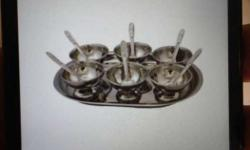 New Stainless Steel Bowls Set unused includes set of 6