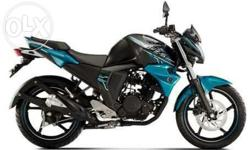New Yamaha fz v.2.00 total km 5000.age 3 month..