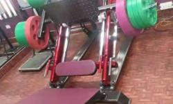 Nice and Heavy Gym equipment Setup Meerut Manufacturer