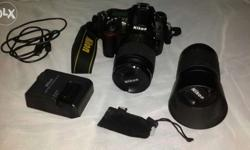 Camera nickon D7000 with bag and remote