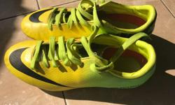 Nike shoes, mercurial football stud, size 5.5 uk,