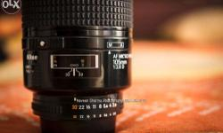 No two ways about it, the Micro-Nikkor 105mm f/2.8 is a
