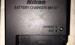 Nikon original battery charger model MH-27