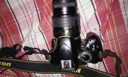 Nikon d3200 1 yr old with Short lens fixed price bag