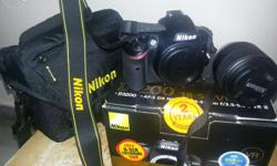 New nikon 3200 just 15 days back..want to sell
