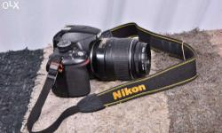 Nikon D3200 With 18-55 mm lens For Sale In Good Working