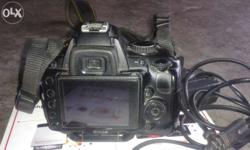 I cell may nikon d5000camera for best condition good