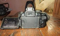 Full kit camera With flash.Battery Bag charger and 4 GB