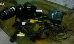 10 months old Nikon d5100 for sale with all documents