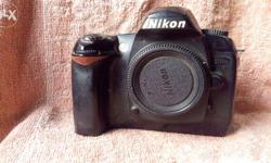 Nikon D 70 With 18-70 3.5-4.5 G DX ED Lense, Camera Not