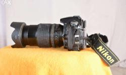 nikon d90,-with 18-105mm lanse, 95% condition ,