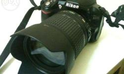 Nikon DSLR d3100 + video + 18-135 only in 23000