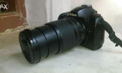 Good condition nikon professional dslr camera with