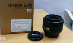 NIKON LENS AF-S DX NIKKOR 35mm f/1.8G fresh and new