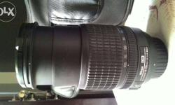Nikon Nikkor AF-S DX 18-105mm lens Condition - average