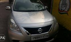 Nissan Sunny well maintained october 2012 model silver