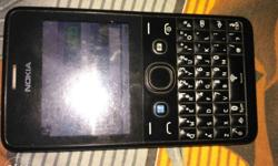 Nokia asha 210 Black colour Charger. Query keypad. Dual