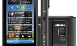 ವಿವರಣೠnokia n8 mobile, black color, with