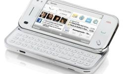 white colour nokia n97 mini is for sale with complete