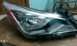 Not used headlamps of new hyundai fluidic verna