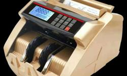 Note counting machine with fake note detection ,brand