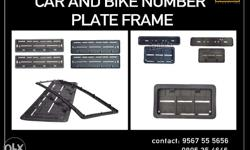AVAILABE EMBOSSED NUMBER PLATE VARIETIES IND Colors:-