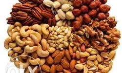 We do different types of nuts and spices both