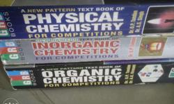 Three Best Chemistry books at just half of the actual