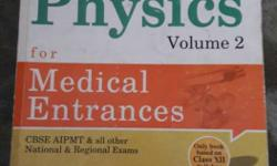 objective physics for medical by DC Pandey volume 2 is