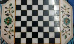 Marble Chess Board. Specially ordered. Very rarely
