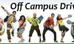 Off Campus Drive for fresher's at Arth I-Soft,