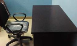 Office Table and chair, good looking not longer use.