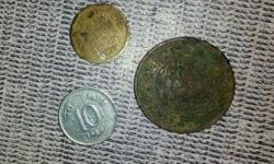 old 3 coin Indian cranchi