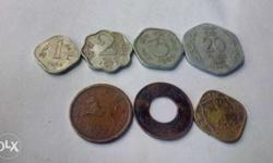 Old coins at cheapest price . . set of 7 different old