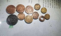 old coins of 10th century slightly negotiable and