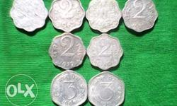Different original coins&year paise my collection don't