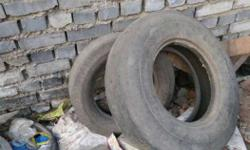 Old tire Tata ace