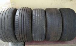 Old tyres available for sale... 225/45 R17 245/45 R17