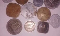 old vintage coins collection