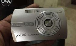 All weather, Water proof Olympus m700 silver camera,