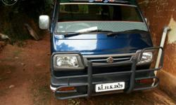 Maruthi omni 2011/8seater very good condition P etrool