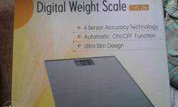 Omron DIgital Weight Scale Only 3 month old. Accurate