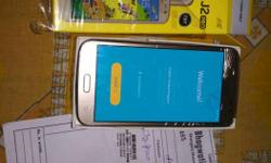 One day old j2 pro 2016 gold small crack on screen buy