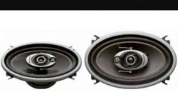 Used Pioneer Oval car speakers. Imported , made in