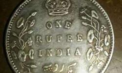 One Rupee India Coin