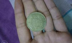 One rupee of 1939 George 5 king